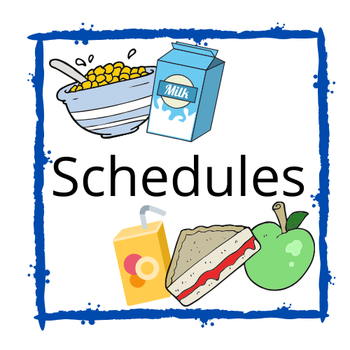 breakfast and lunch schedule icon