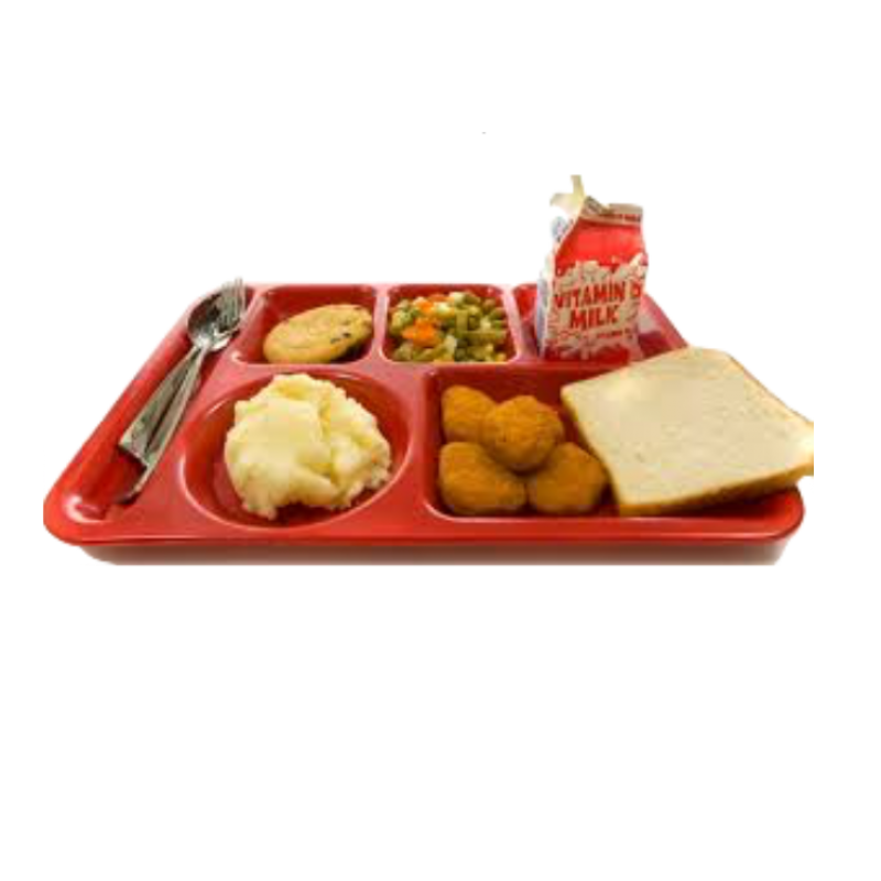 picture of lunch tray
